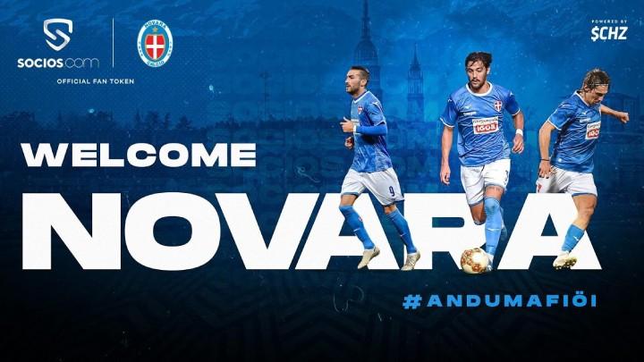 FanTokenNews.com - Novara Calcio Launches $NOV Fan Token on Socios.com.