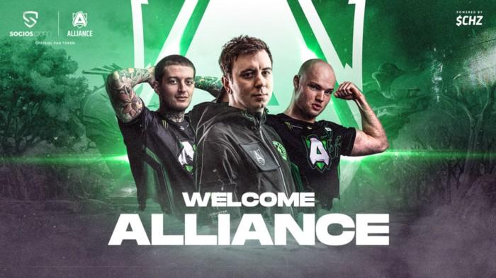 FanTokenNews.com - Team Alliance Launches $ALL Fan Token on Socios.com.