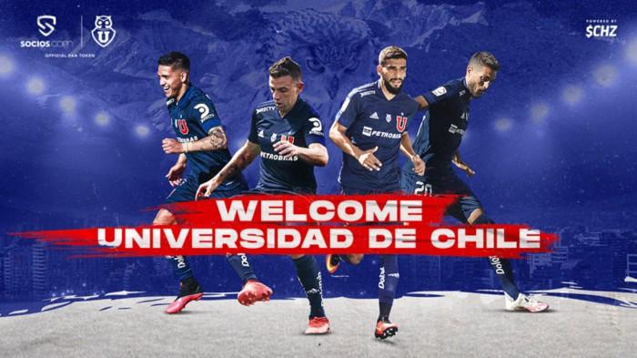 FanTokenNews.com - Club Universidad de Chile Launches $UCH Fan Token on Socios.com.