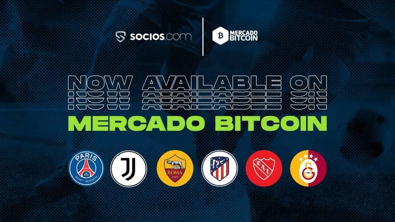 FanTokenNews.com - Mercado Bitcoin Listed 6 Fan Tokens ($PSG, $JUV, $ASR, $CAI, $ATM and $GAL).