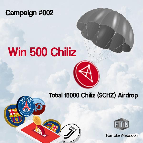 FanTokenNews.com - Register to Chiliz Exchange and Win 500 Chiliz ($CHZ).