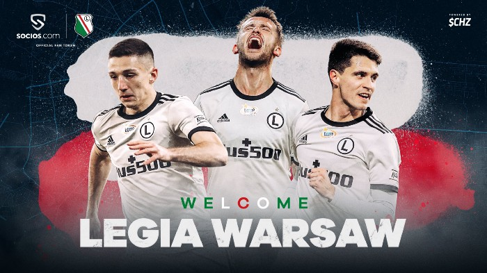 FanTokenNews.com - Legia Warsaw Launches $LEG Fan Token on Socios.com.