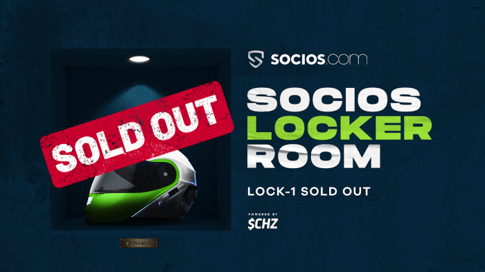 FanTokenNews.com - F1 Locker Room Has Been Sold Out.